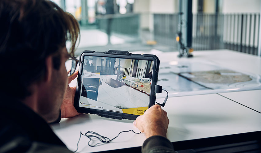 Liebherr AR Experience – Digitalisation up-close