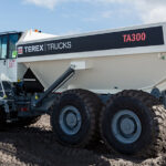 Terex Trucks' articulated haulers to residential construction on Poland