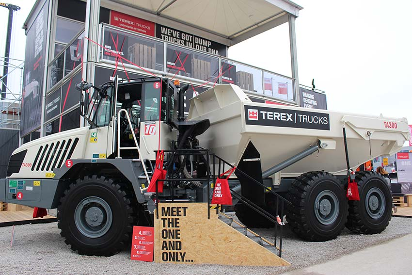 Terex Trucks to showcase TA300 and TA400 at CONEXPO 2020