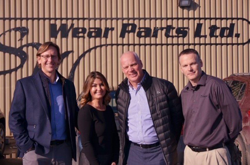 Metso strengthened with addition of L.S.W. Wear Parts Ltd.