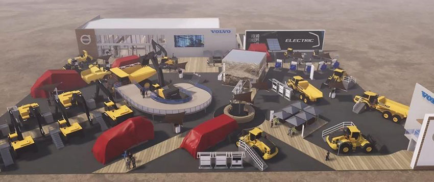 VOLVO CE with ambitious showcase at CONEXPO 2020