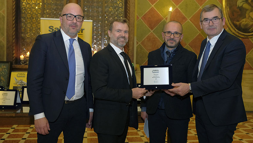 Mini-excavator from Wacker Neuson wins SaMoTer Innovation Award