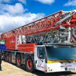 Liebherr MK 88 mobile construction crane handover in Guadeloupe