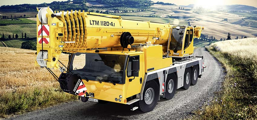 Liebherr unveils the new LTM 1120-4.1 at CONEXPO-CON/AGG 2020