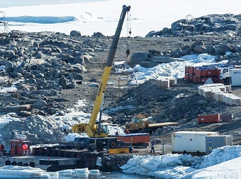 Grove RT540E deployed at Australian Antarctic station
