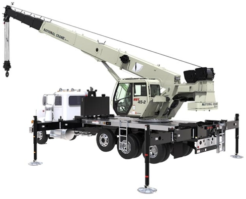 Manitowoc unveils National Crane NBT40-2 series boom trucks