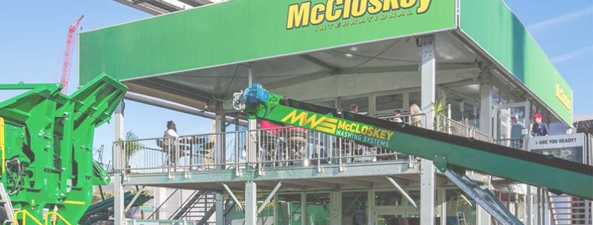 "McCloskey building a ""Field of Greens"" at CONEXPO/CON-AGG 2020"