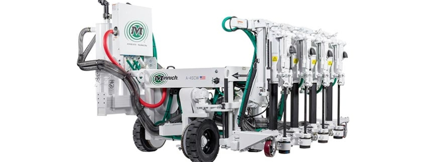 Minnich Introduces A-4SCW Dowel Pin Drill at CONEXPO