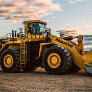 New Komatsu WA800-8 wheel loader increases fuel efficiency