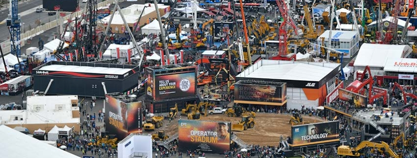 The Construction Industry came together in a big way at CONEXPO 2020