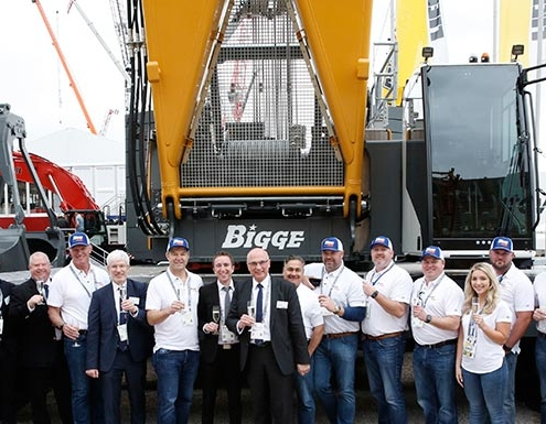 Liebherr Nenzing delivers more crawler cranes to Bigge