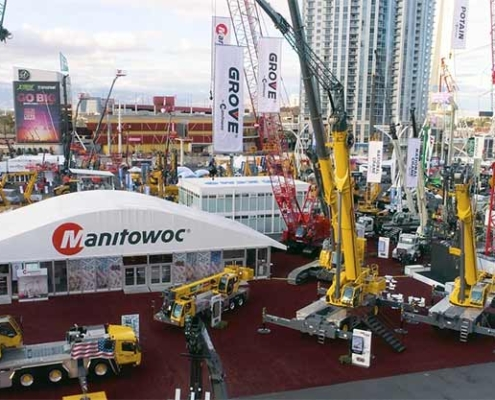 Look back at CONEXPO 2020 with Manitowoc Cranes