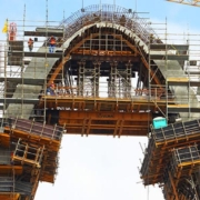 ULMA engineering solutions on the Arch of Innovation bridge, Brazil
