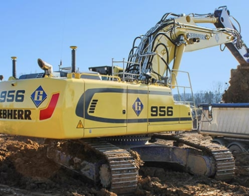Luxembourg: Two new Liebherr crawler excavators for Félix Giorgetti Sàrl