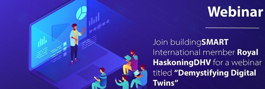 "buildingSMART webinar ""Demystifying Digital Twins"""