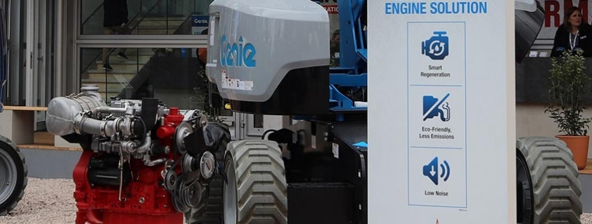 New Genie® Stage V Engines feature innovative technology