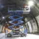 Genie rough terrain scissor lifts assist in completion of Morandi tunnel
