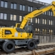 New generation with greater efficiency:Liebherr A 922 Rail Litronic