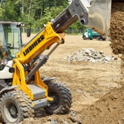 The L 509 Tele is Liebherr's first telescopic wheel loader