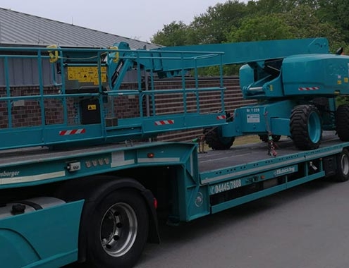 Schickling Rental receives delivery of a Genie® 4-M (13- Ft) Platform