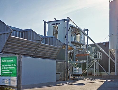 Liebherr is starting sales of the new self-service concrete plant