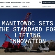 Manitowoc launches new website
