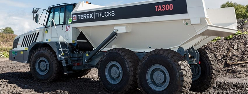Terex Trucks TA300 proves top of the class on Texas high school construction projects