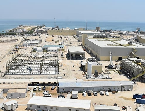 Acciona produces first cubic meter of water at Al Khobar 1