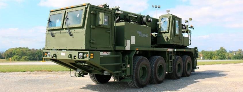 Grove GMK4060HC all-terrain cranes to the U.S. Army
