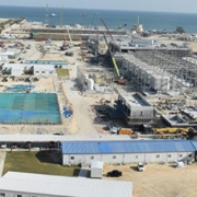 Construction Al-Khobar 1 SWRO desalination plant at 90%