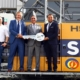 Liebherr delivers two new Duty Cycle Crawler Cranes HS 8130.1 in Dubai