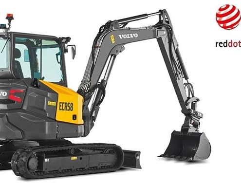 Volvo CE adopts clean product branding as part of award-winning design philosophy