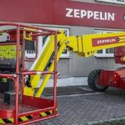 Genie Sustainable technologies for the Zeppelin Rental fleet