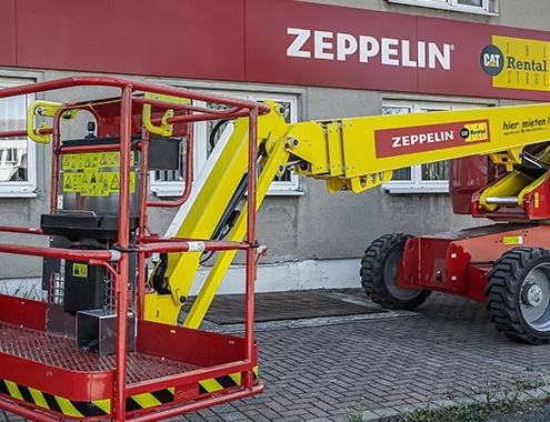 Genie Sustainable technologies for the Zeppelin Rental fleet