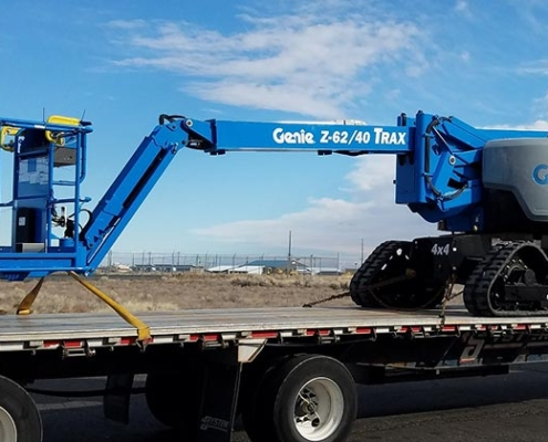 Genie launches new Z®-62/40 TraX articulating boom in Europe