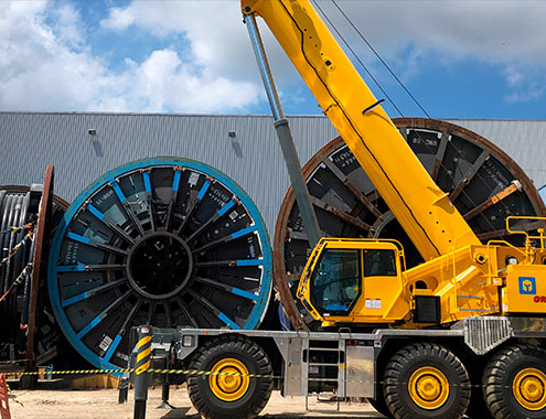 Brazil's first Grove GRT9165 as oil and gas sector begins recovery