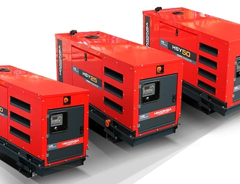 HS Stationary Range, a new concept of generator sets