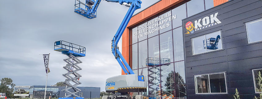Great start withhybrid Genie Z-45 FE articulating boom lift in Europe