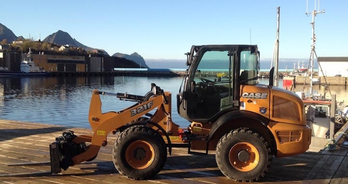 CASE 321F: powering Norway's fishing industry for four years