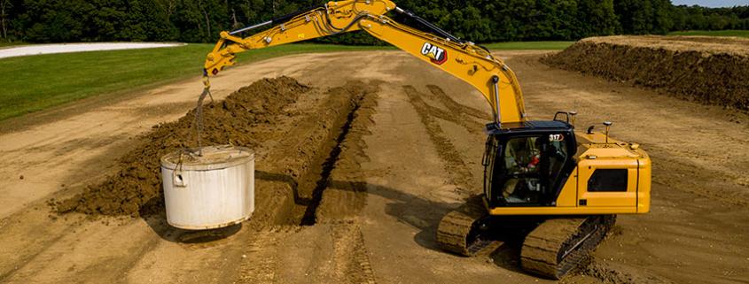 New Cat ® 317 and 317 GC Next Gen Excavators