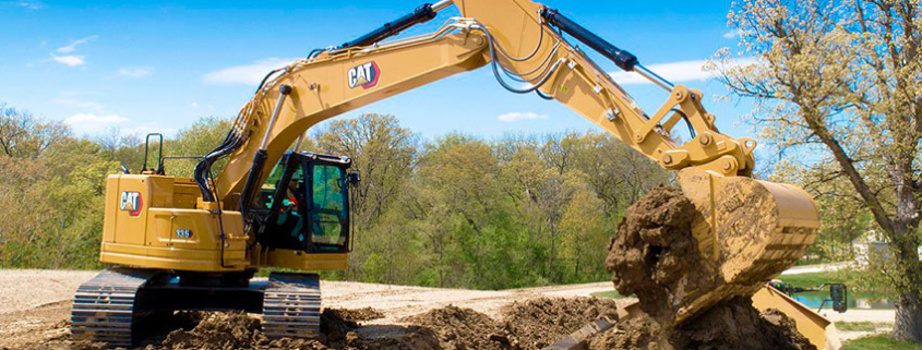 New Cat® 335 Compact Radius Next Gen Excavator