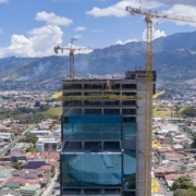 Potain MCT 205 erects one of the most advanced buildings in Costa Rica