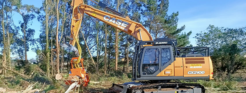CASE crawler excavators at work throughout Europe
