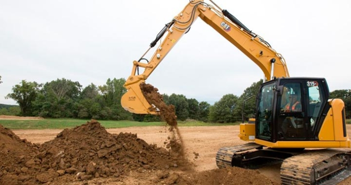 The New Cat ® 315 GC Compact Radius Excavator­­