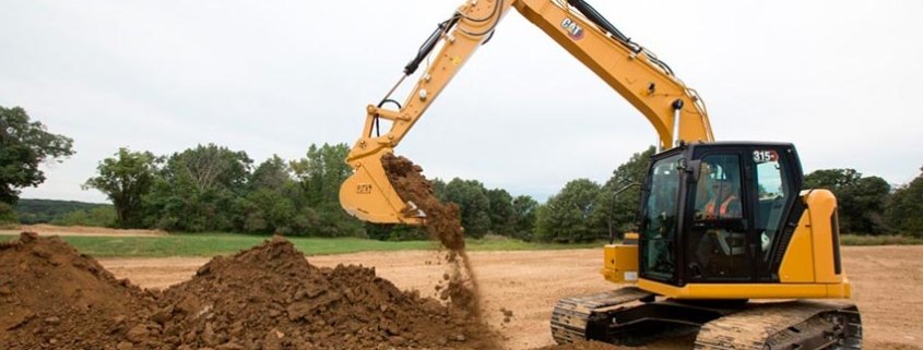 The New Cat ® 315 GC Compact Radius Excavator