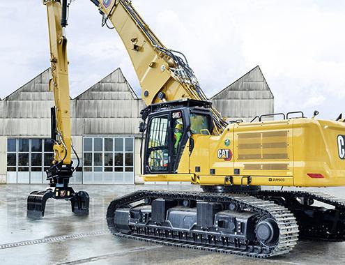 New Cat ® 340 UHD Demolition Excavator