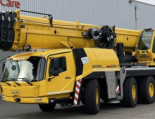 Locar orders five Grove all-terrain cranes for the Brazilian market