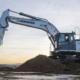 R 934 G8, first hydraulic excavator with Leica Geosystems machine control system