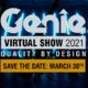 Genie announces virtual event on 30th March