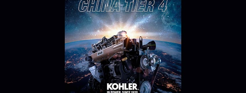 Kohler welcome the new China Tier 4 regulation